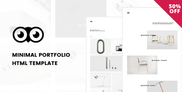 Owlfolio - Personal Portfolio Template