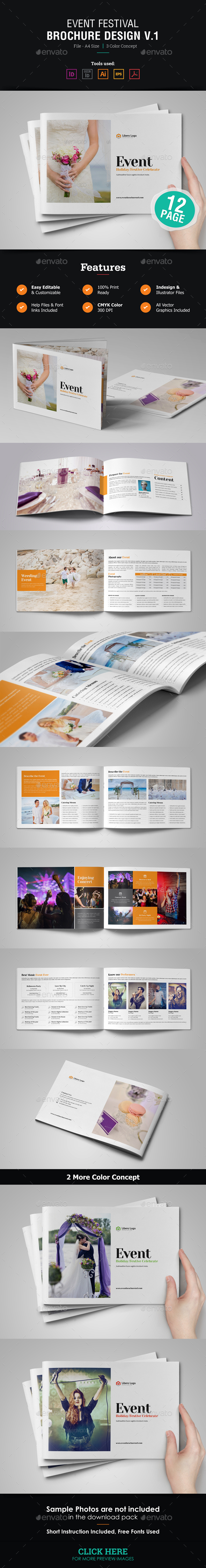 GraphicRiver Event Festival Brochure Catalog 21038336