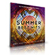 Summer - Digital Release Music Cover Template - GraphicRiver Item for Sale