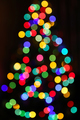Unfocused Bright lights of Christmas Tree - PhotoDune Item for Sale