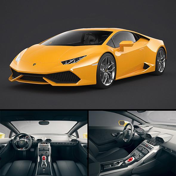 3DOcean Lamborghini Huracan 21039014