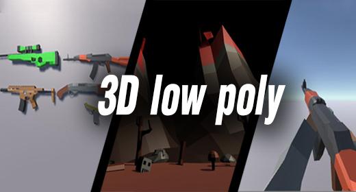 3D low poly