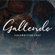Gallendo Font - GraphicRiver Item for Sale