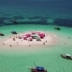 Aerial View of Beautiful Sand Tropical Island - VideoHive Item for Sale