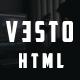 Vesto-Minimal Portfolio Template