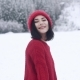 A Beautiful Smiling Girl in Winter in - VideoHive Item for Sale