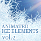 Animated Ice Elements. Vol.2 - VideoHive Item for Sale