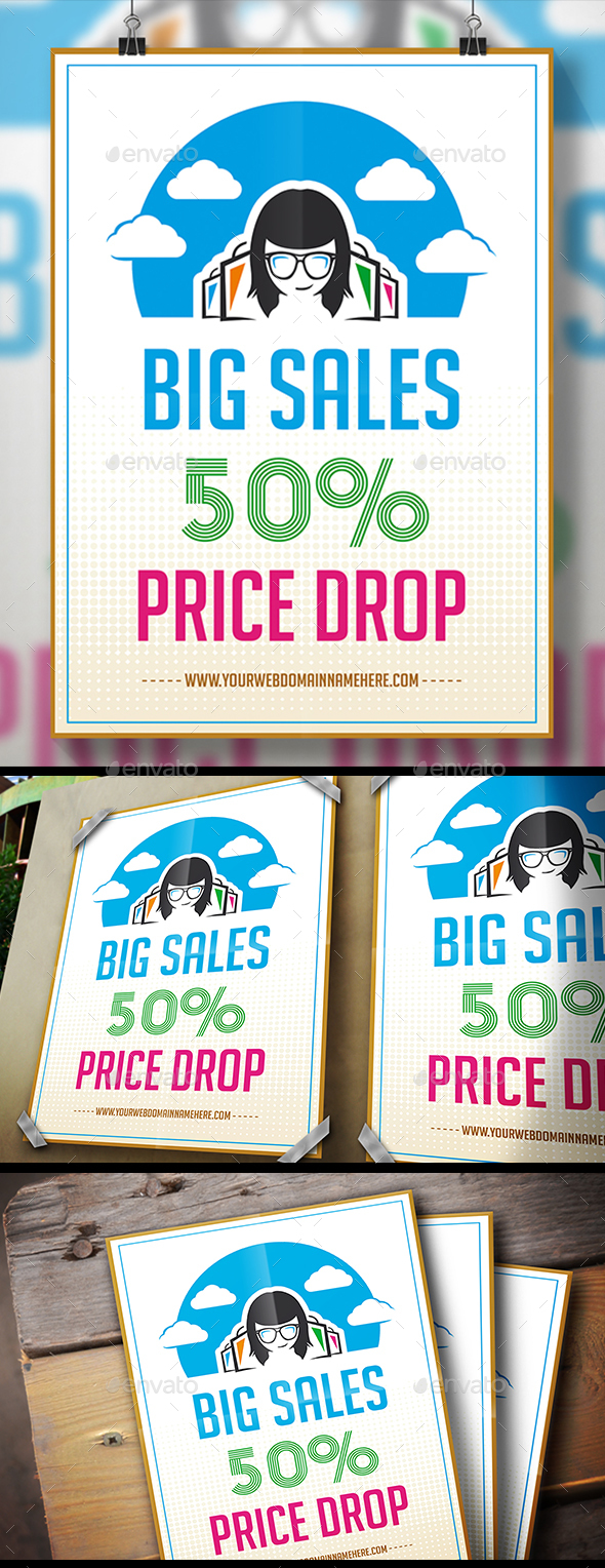 GraphicRiver Store Deals Flyer 21039555