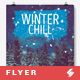 Winter Chill 2 - Chillout Session Poster Template A3 - GraphicRiver Item for Sale