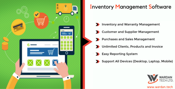 CodeCanyon Inventory Management Software 21039850