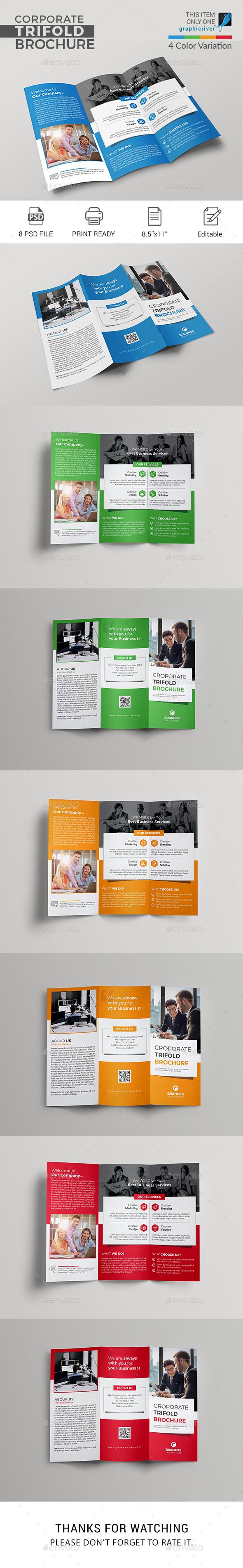 GraphicRiver Trifold Brochure 21039887