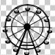 Ferris Wheel Silhouette - VideoHive Item for Sale