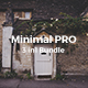 3 in 1 Minimal PRO Bundle Keynote Template