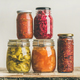 Autumn seasonal pickled or fermented vegetables. Home food preserving - PhotoDune Item for Sale