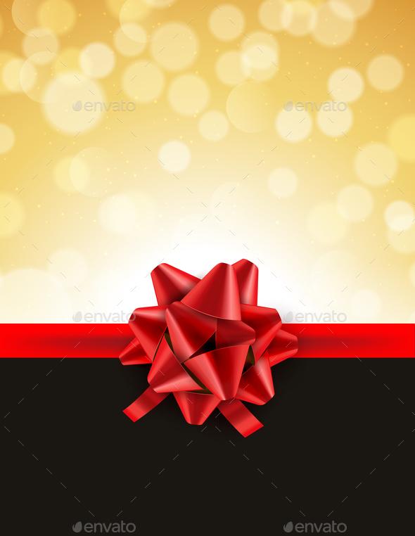 GraphicRiver Christmas Bokeh Background 21040611