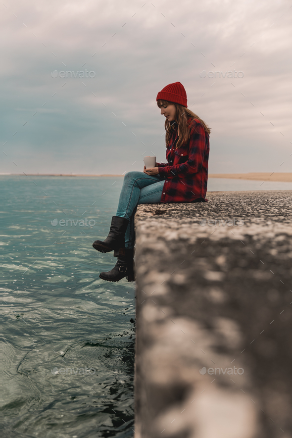 Sometimes I love my solitude - Stock Photo - Images