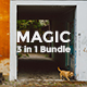 3 in 1 Magic Bundle Powerpoint Template