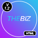 TheBiz - Multipurpose Business And Corporate HTML5 Template