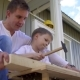 Father and Son Do Carpentry - VideoHive Item for Sale