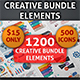 Creative Bundle Infographic Elements - GraphicRiver Item for Sale