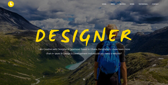 Download Latos - Creative Personal Portfolio Template            nulled nulled version