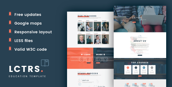 LCTRS - Education Responsive HTML5 Template
