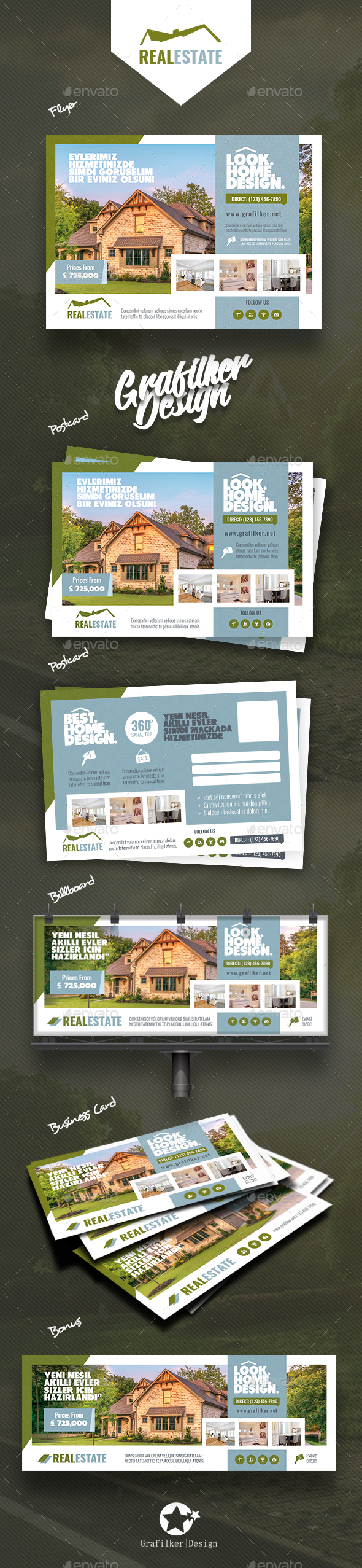 GraphicRiver Real Estate Bundle Templates 21041370