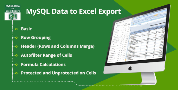 CodeCanyon MySQL Data to Excel Export 21041641