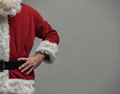 Confident Santa posing with arms akimbo - PhotoDune Item for Sale