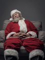 Santa Claus napping on the armchair - PhotoDune Item for Sale