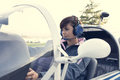Pilot in the aircraft cockpit - PhotoDune Item for Sale