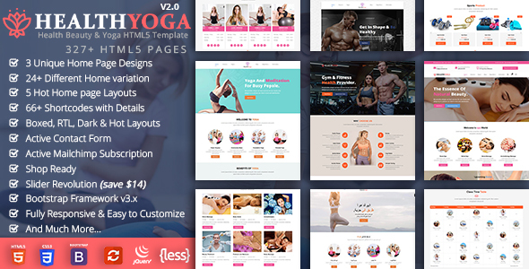 Health Yoga - Spa Yoga Gym Fitness