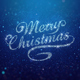 Blue Merry Christmas Greeting - VideoHive Item for Sale
