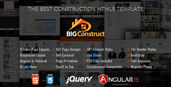 Big Construct - Construction Building Company