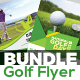 Golf Flyers Bundle