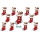 Christmas Gift Sock Emotions Emoticons Set