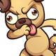 Dabbing Pug