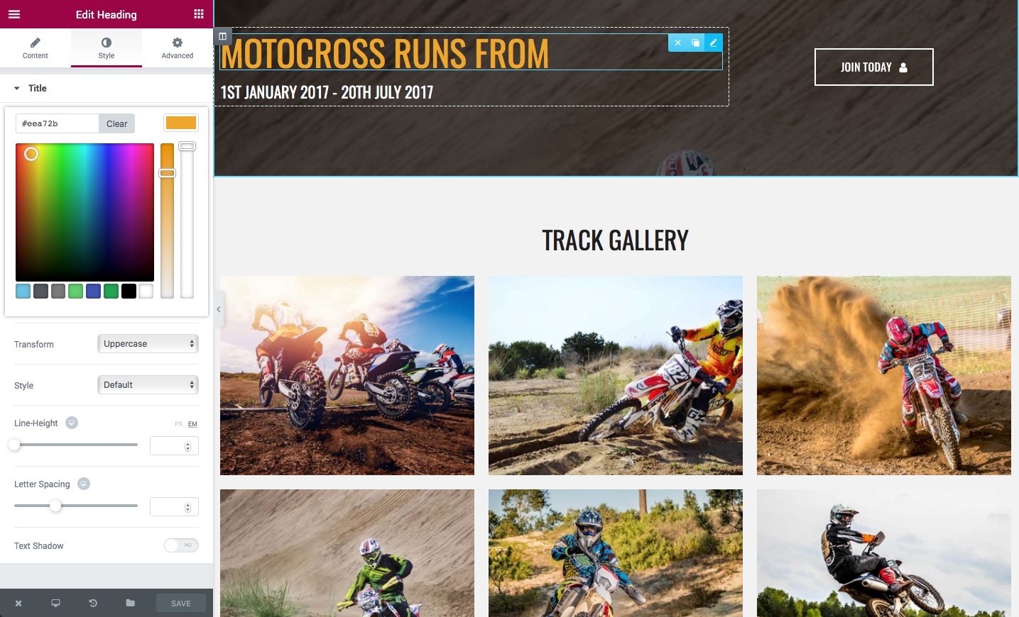 Très motoCROSS - Motorcycle & ATV WordPress Theme by ProgressionStudios ZA24