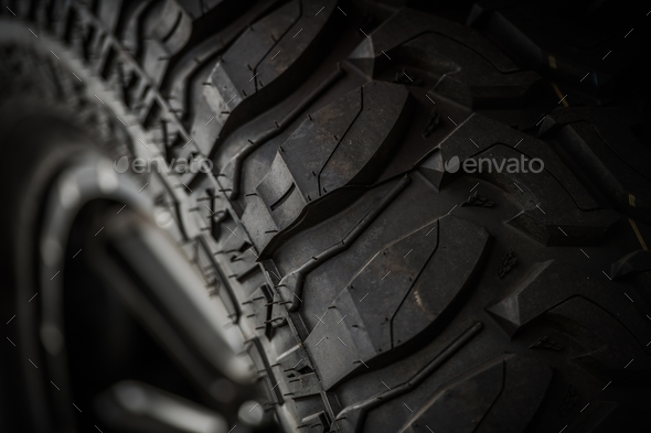 Off Road Tire Closeup - Stock Photo - Images