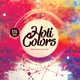Holi Colors Music Festival Flyer Template