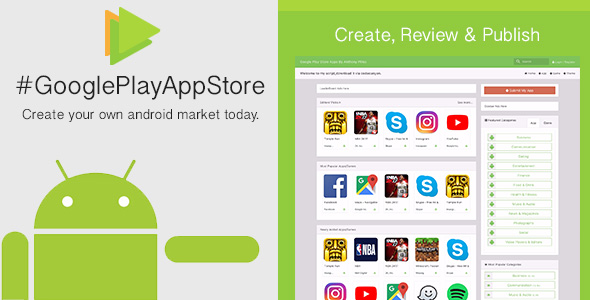 Google Play App Store [CMS] - CodeCanyon Item for Sale