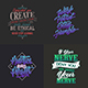 Typography Badges And Labels Vol.11