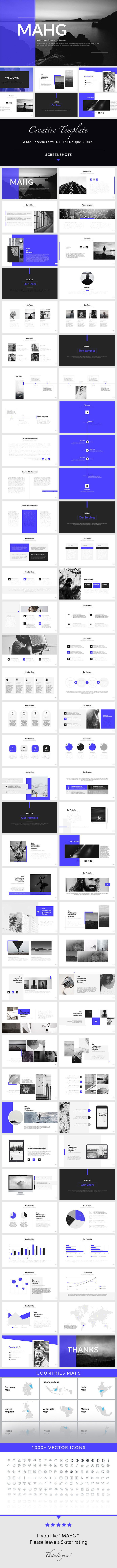 MAHG - PowerPoint Presentation Template - Creative PowerPoint Templates