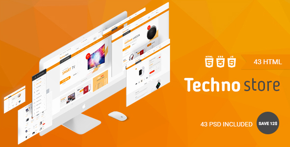 Image of Techno Store - Electronic eCommerce HTML Template