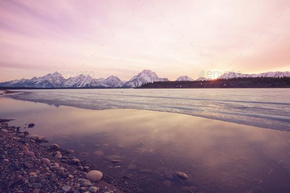 Grand Teton - Stock Photo - Images