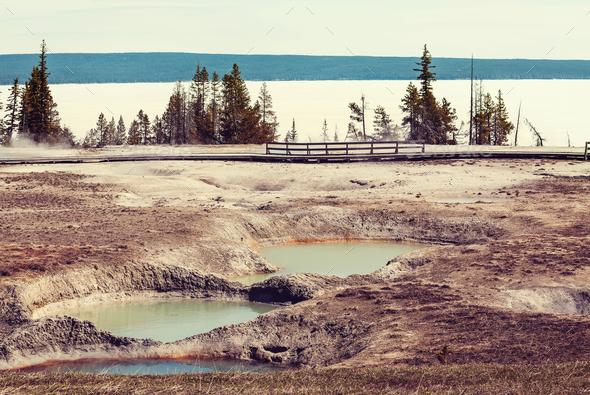 Yellowstone - Stock Photo - Images