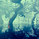 Trees Growing In The Swamp - VideoHive Item for Sale