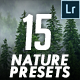 15 Professional Nature Lightroom Presets - GraphicRiver Item for Sale