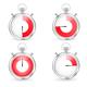 Digital Timers Stopwatch Set