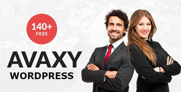 Avaxy - WordPress Multipurpose Theme - Corporate WordPress
